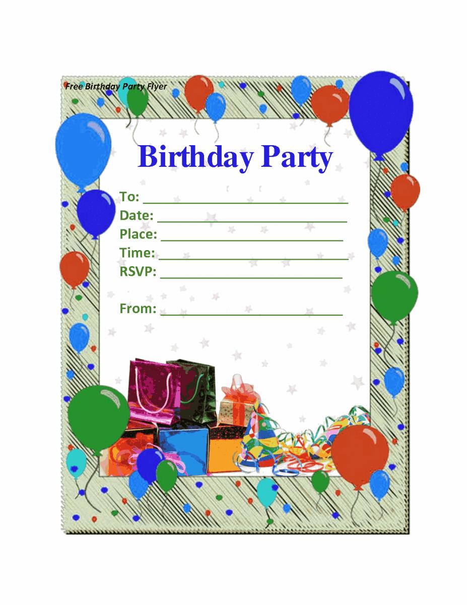 Top 13 Boy Birthday Party Invitations