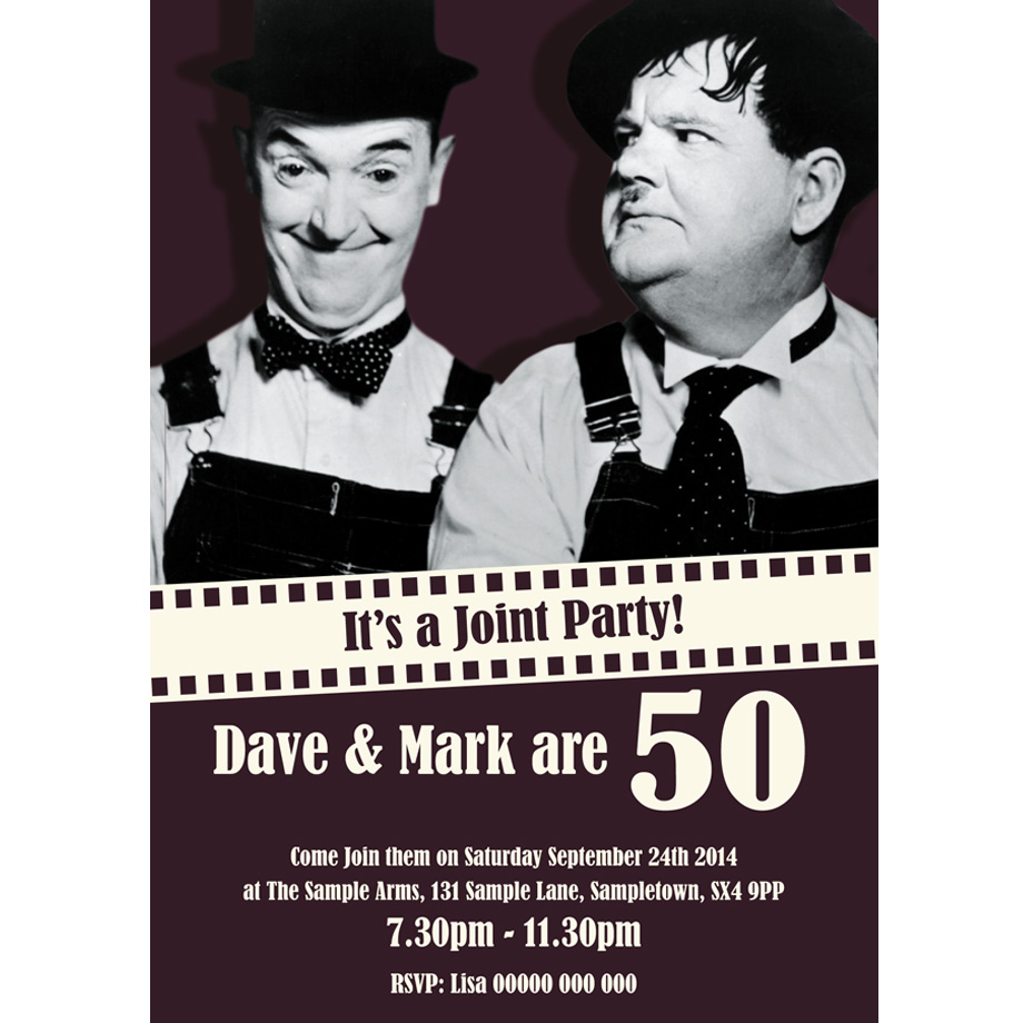 Top 17 Double Birthday Party Invitations