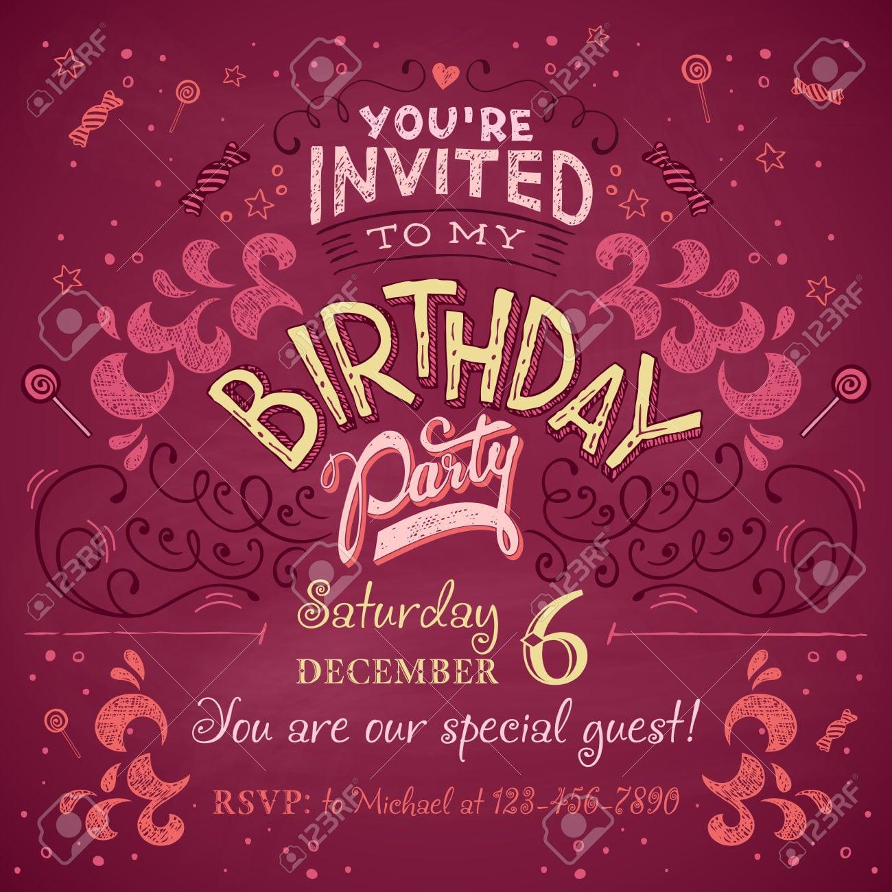 Party Invitation Card Design - Mickey Mouse Invitations Templates