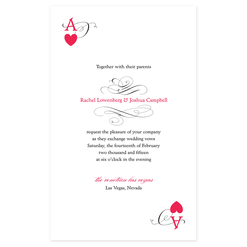Wedding Reception Invitation Wording