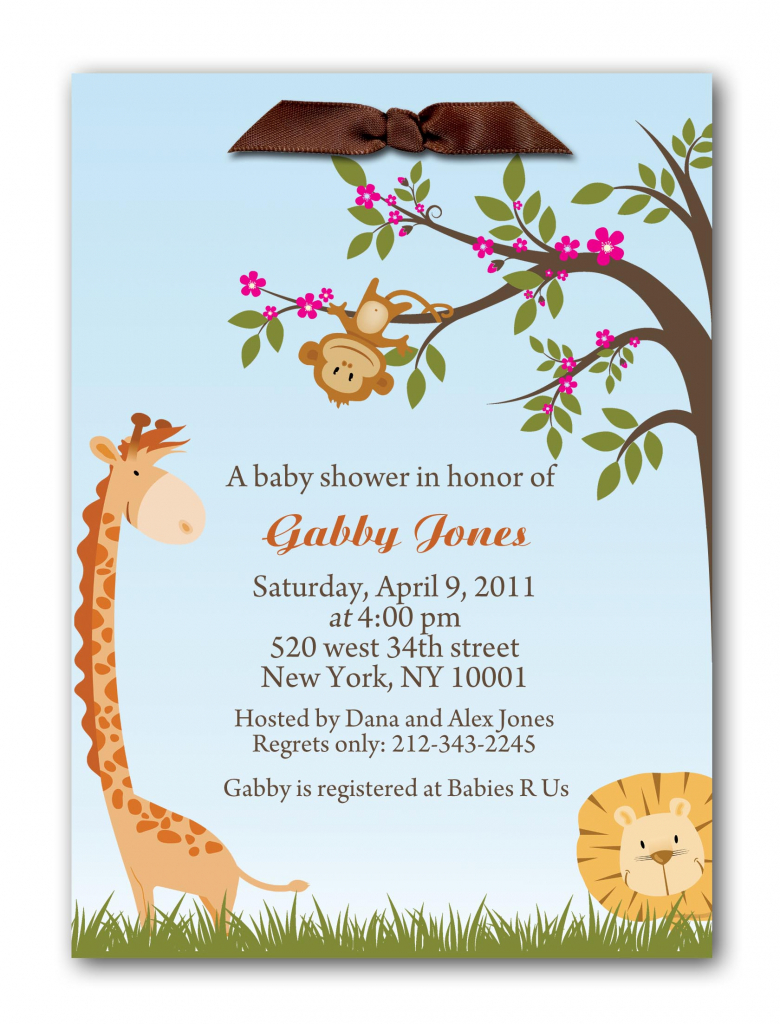 Welcome Baby Party Invitation Wording