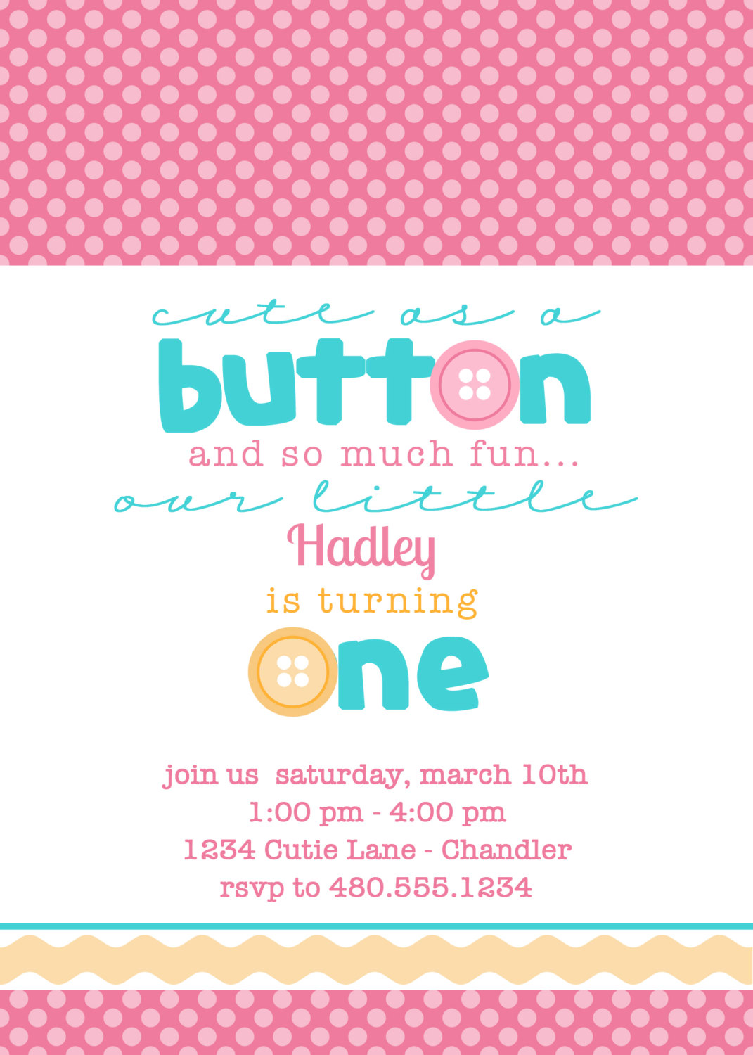 Welcome Baby Party Invitations