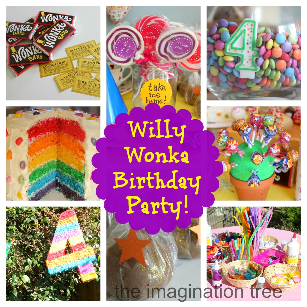 Willy Wonka Birthday Party!