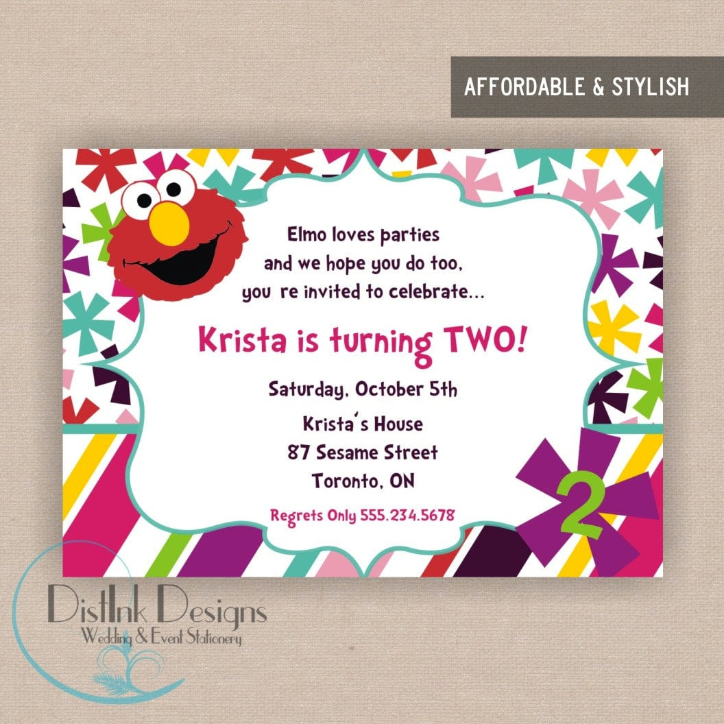 Write Invitation For Birthday Party  Spellbound Designs Custom