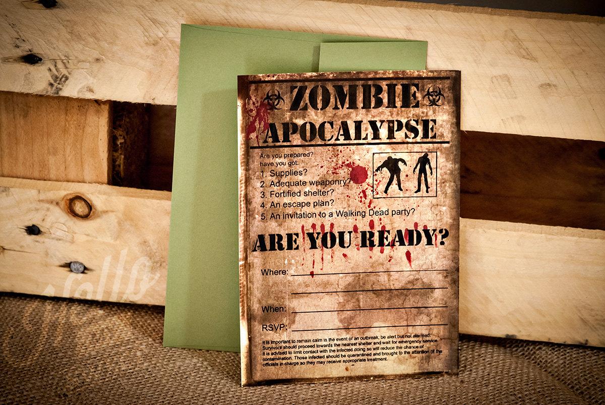 Zombie Invitation