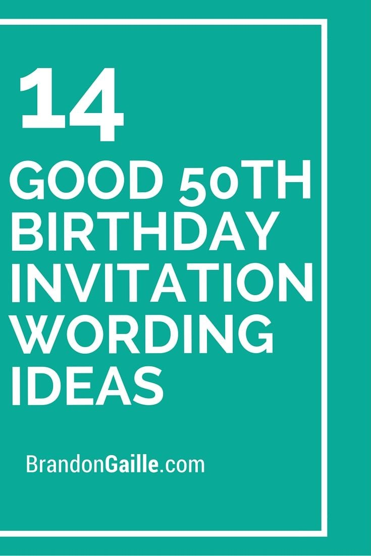 17 Best Ideas About 50th Birthday Invitations On Pinterest