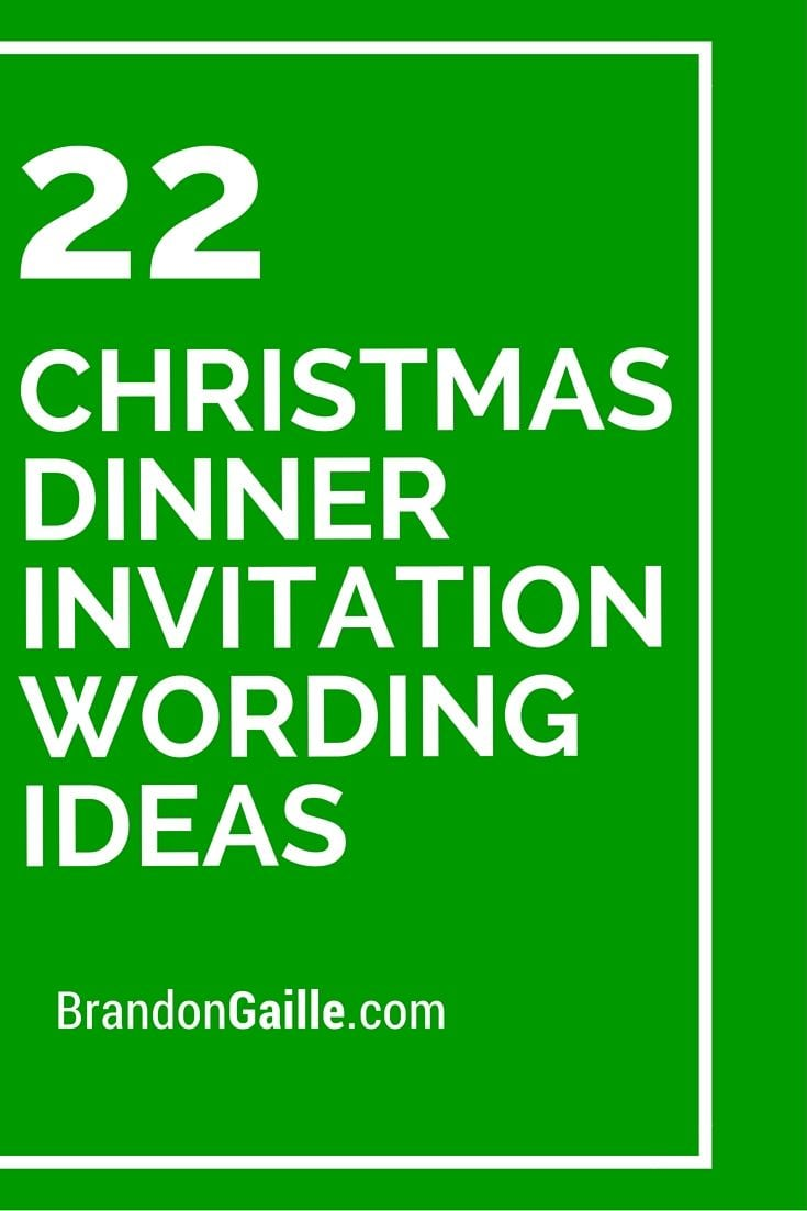 17 Best Ideas About Dinner Invitation Wording On Pinterest