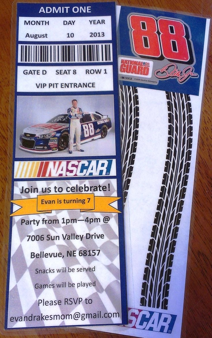 17 Best Images About Nascar Birthday On Pinterest