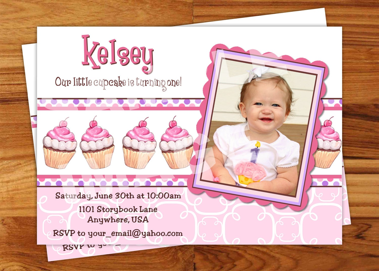 1st Birthday Party Invitation Wording Ideas