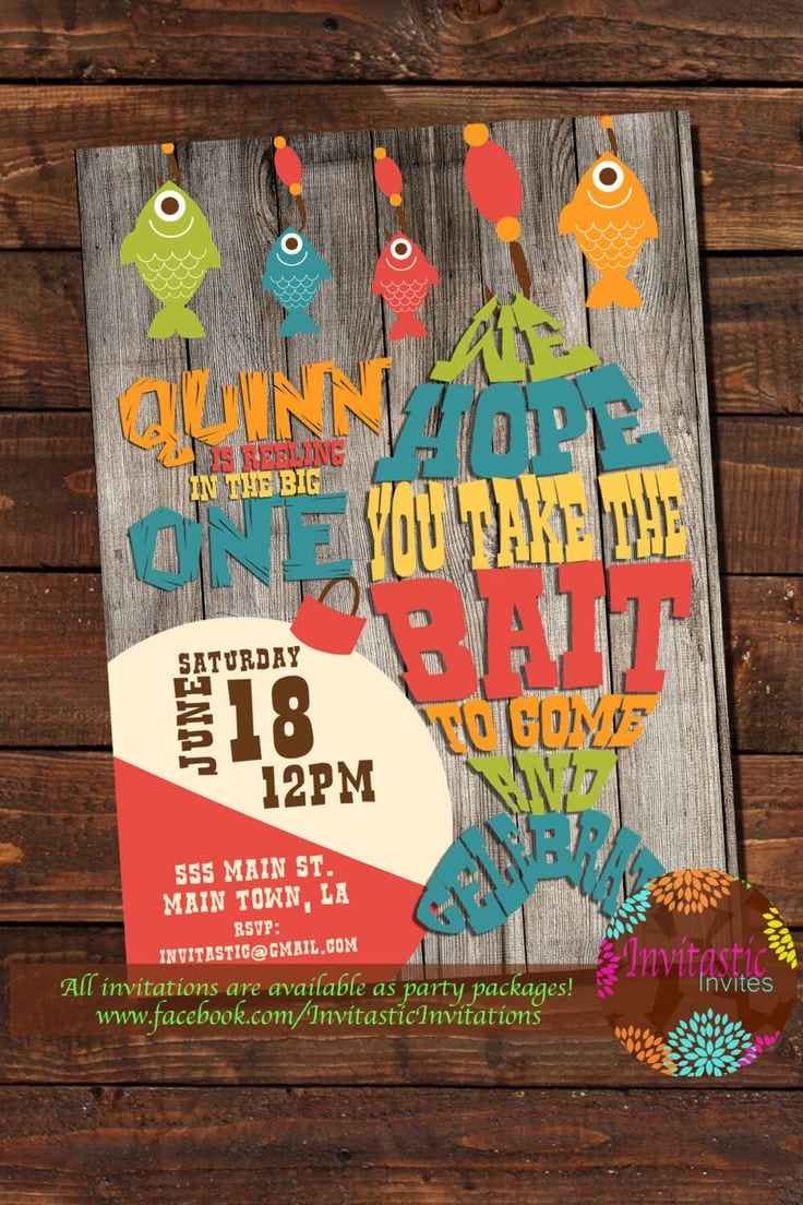 25+ Best Ideas About Fishing Party Themes On Pinterest
