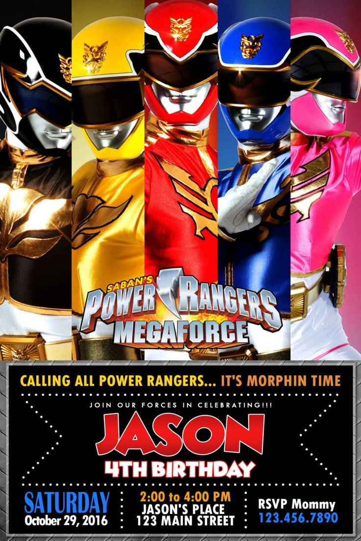 Blog page 133 of 384 mickey mouse invitations templates 25 best ideas about power ranger party on pinterest power rangers birthday bookmarktalkfo Choice Image