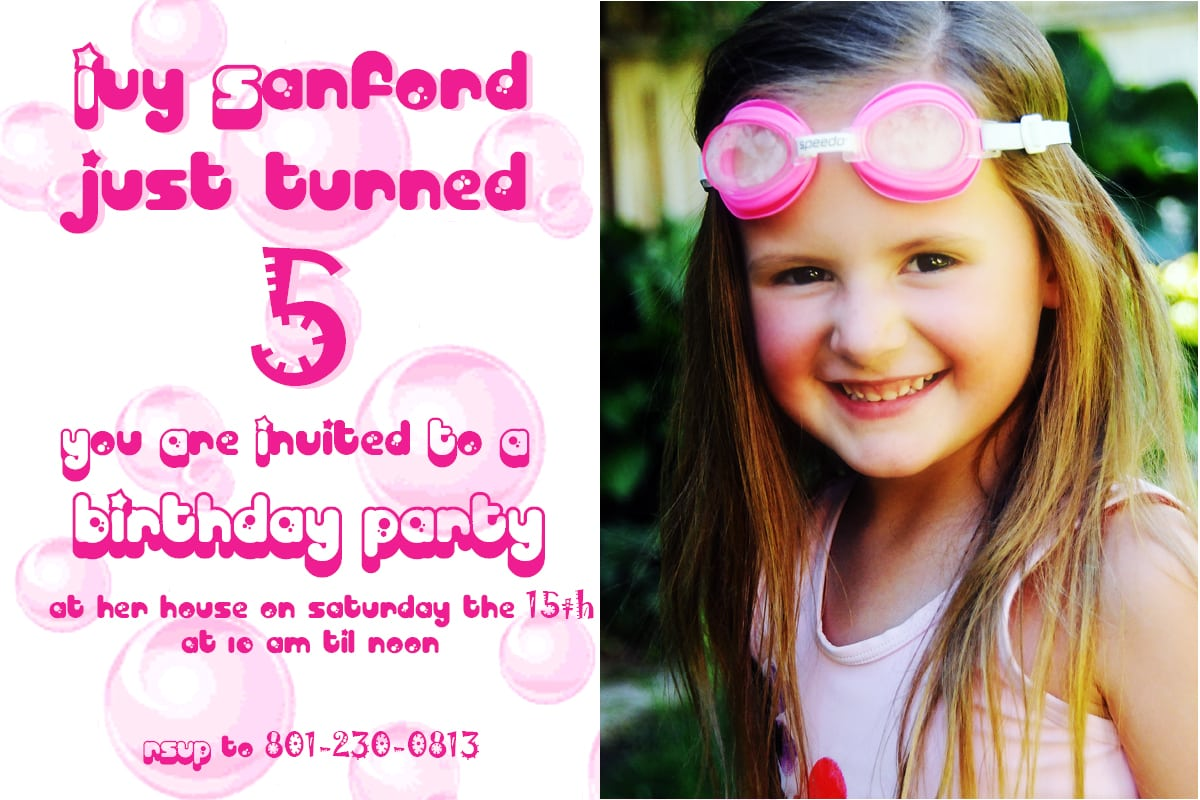 5 Years Old Birthday Party