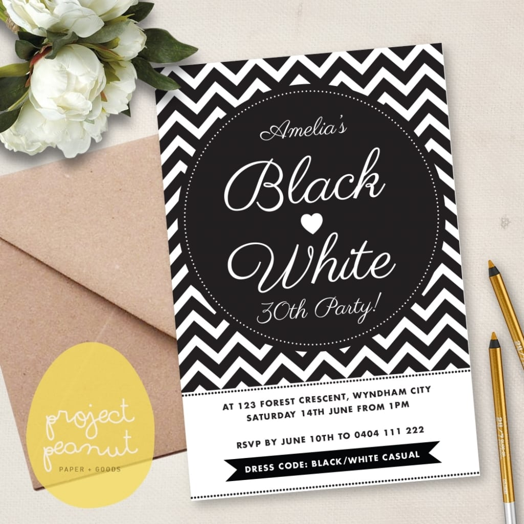 all white party invitation ideas Minimfagencyco