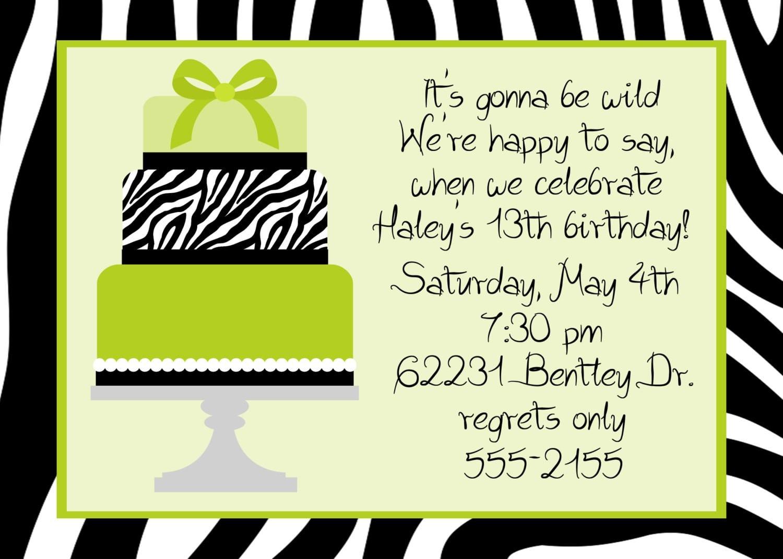 Birthday Dinner Party Invitation Wording