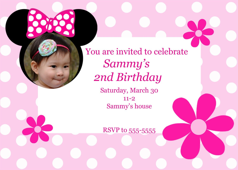 Imágenes de 2Nd Bday Party Invitation Wording