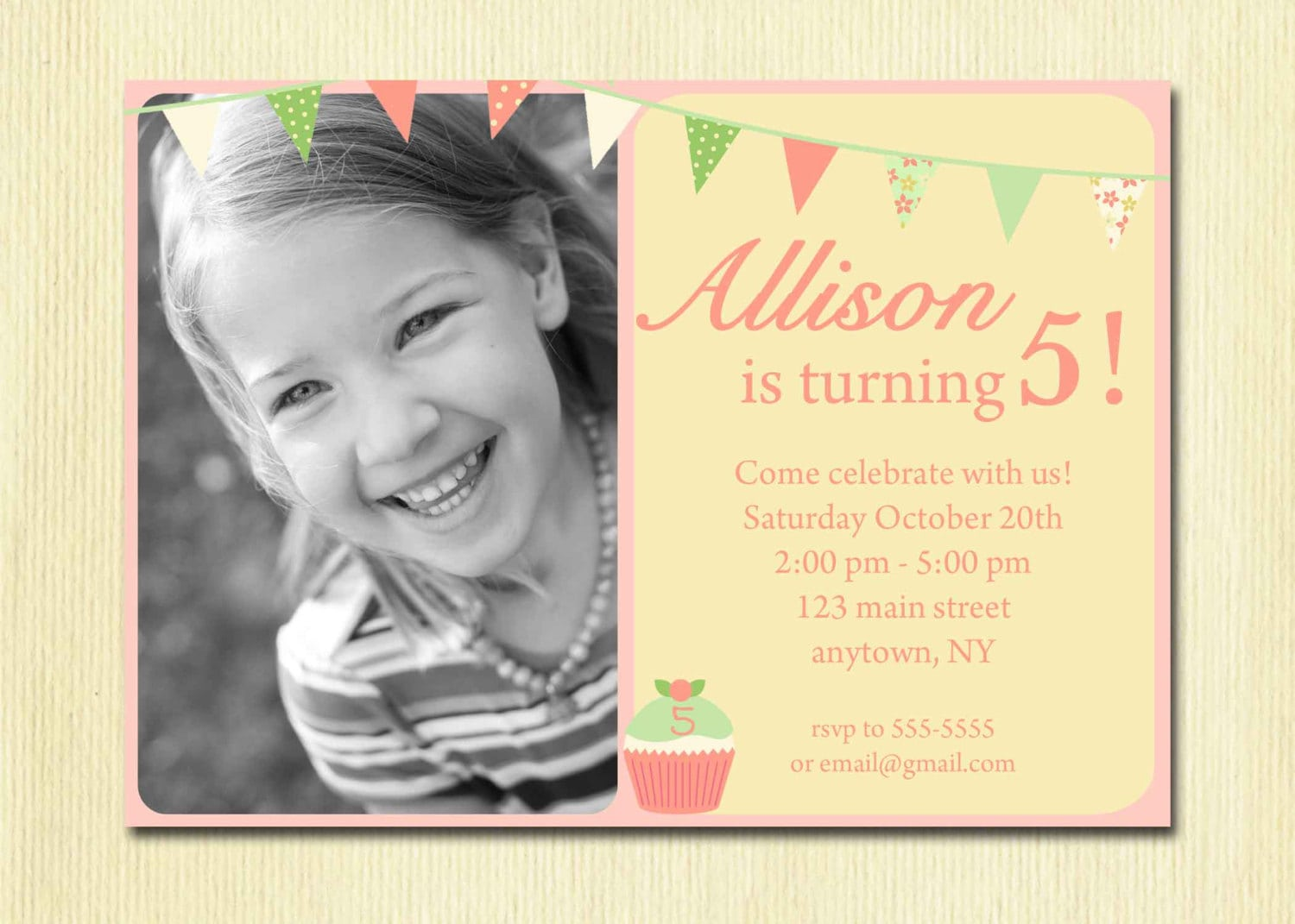 Birthday Party Invitation Wording For 7 Year Old