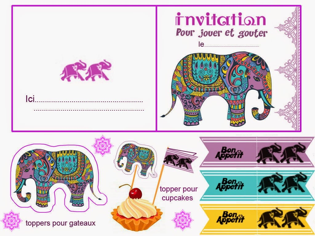 Bollywood Party Invitations - Mickey Mouse Invitations Templates