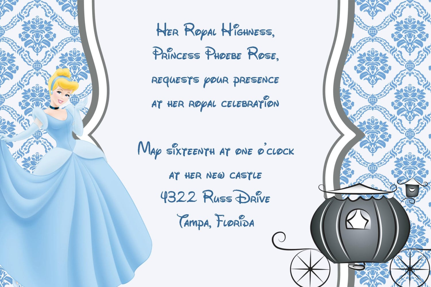 Doc    Cinderella Party Invitations – 17 Best Ideas About