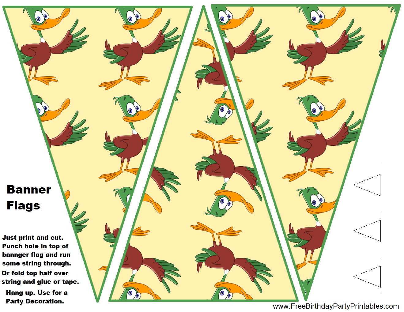 Duck Hunting Birthday Party Printables