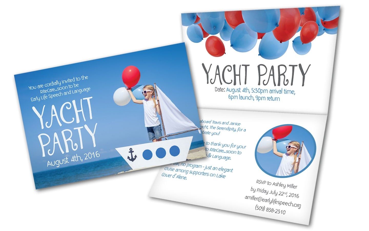 yacht invitations announcements zazzle yacht party invitation