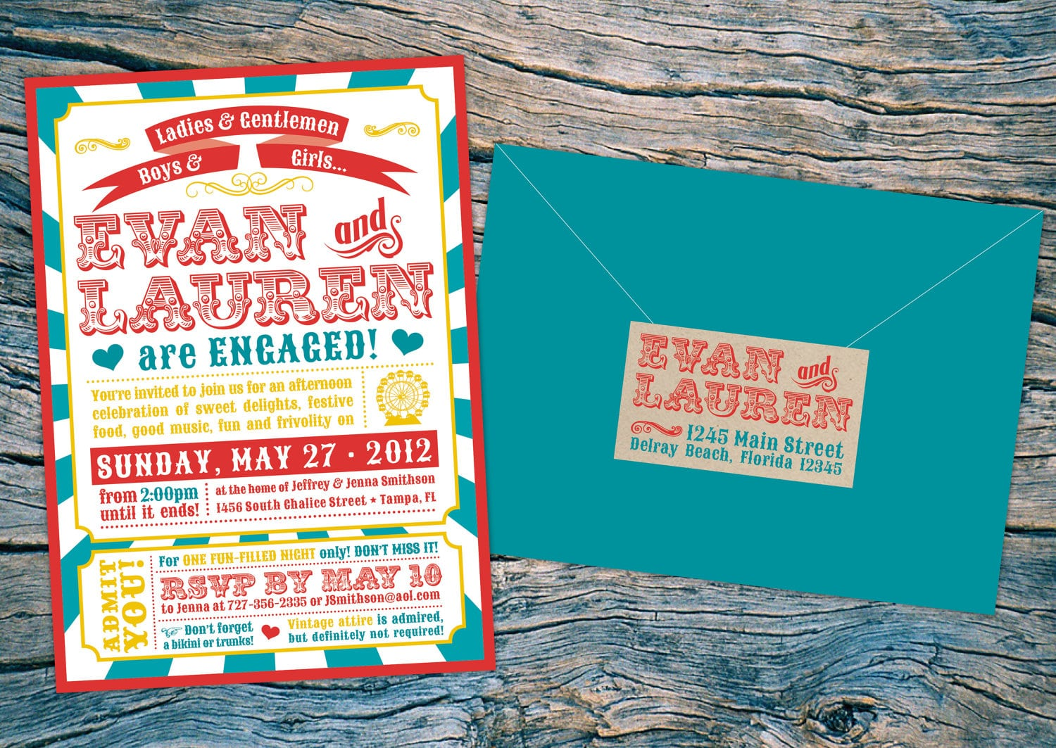 Etsy engagement party invitations mickey mouse for Etsy engagement party invites