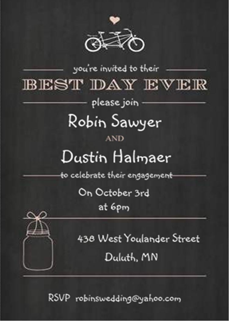 Engagement Party Invitations New Selections Spring 2017