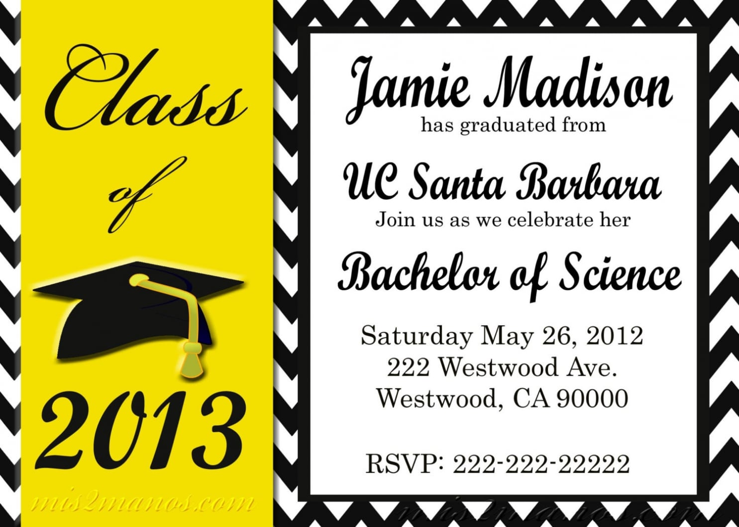 Free Graduation Party Invitation Templates Which Perfect For You