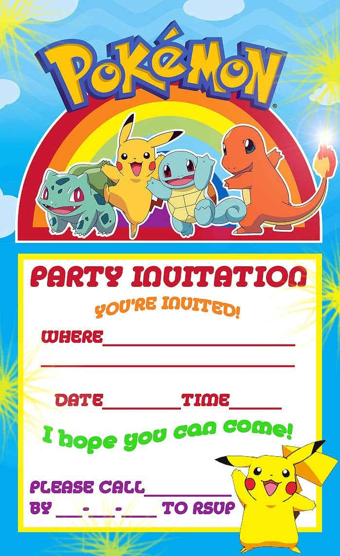 Free Kids Party Invitations To Print - Mickey Mouse Invitations ...