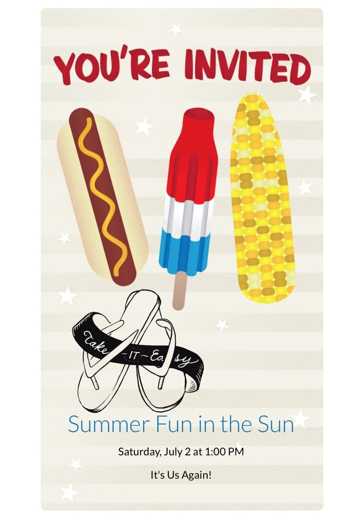 Fun In The Sun! Here's Your Invite To Explore Summer With Evite
