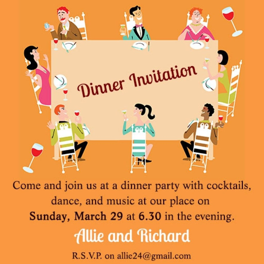 Sample invitation letter for lunch party mickey mouse lunch party informal wedding invitation letter sample stopboris Image collections