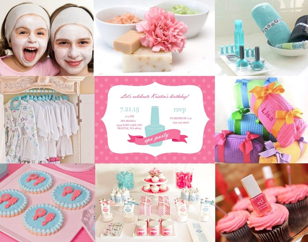 Kids Spa Party Ideas & Tips From Purpletrail