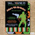 Printable Laser Tag Party Invitations
