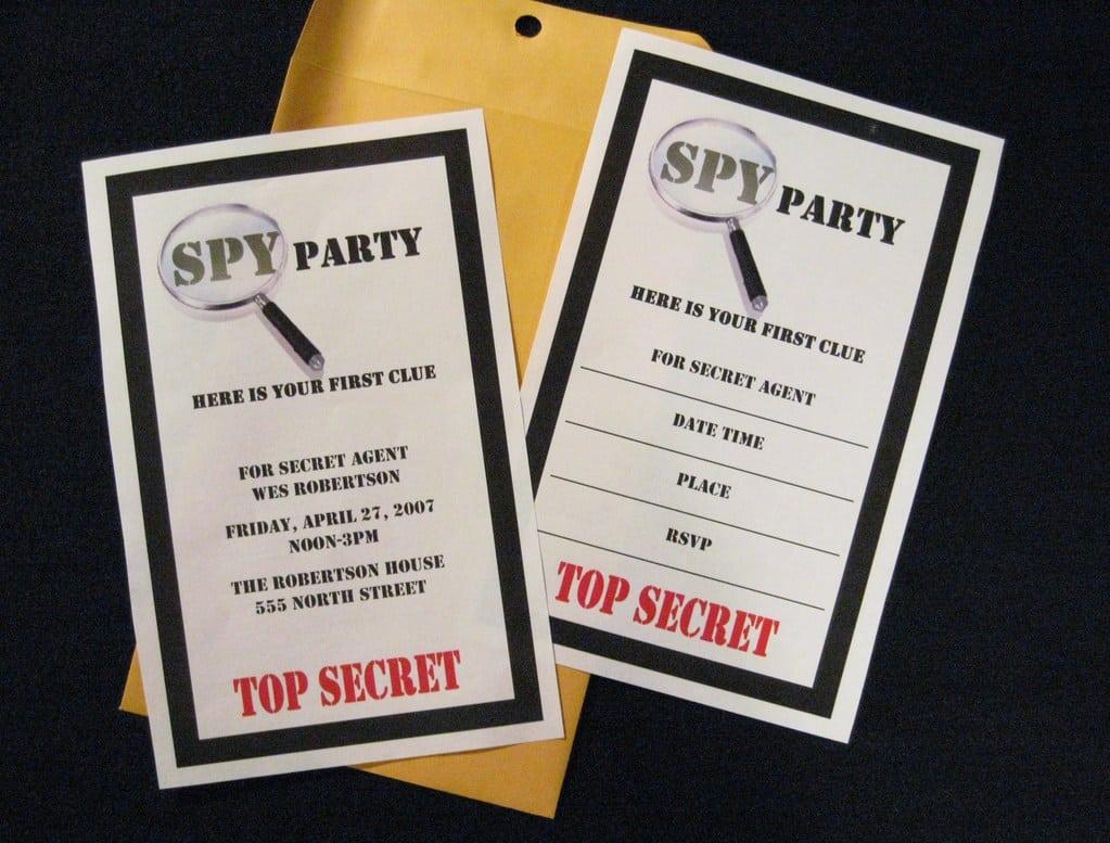 Comfortable Clue Party Invitations Ideas - Invitation Card Ideas ...