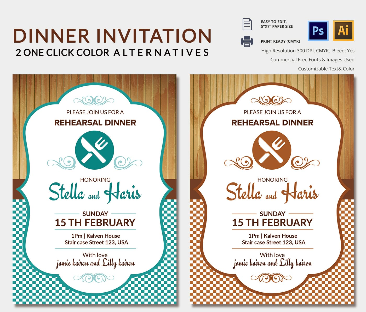 Lunch Party Invitation - Mickey Mouse Invitations Templates
