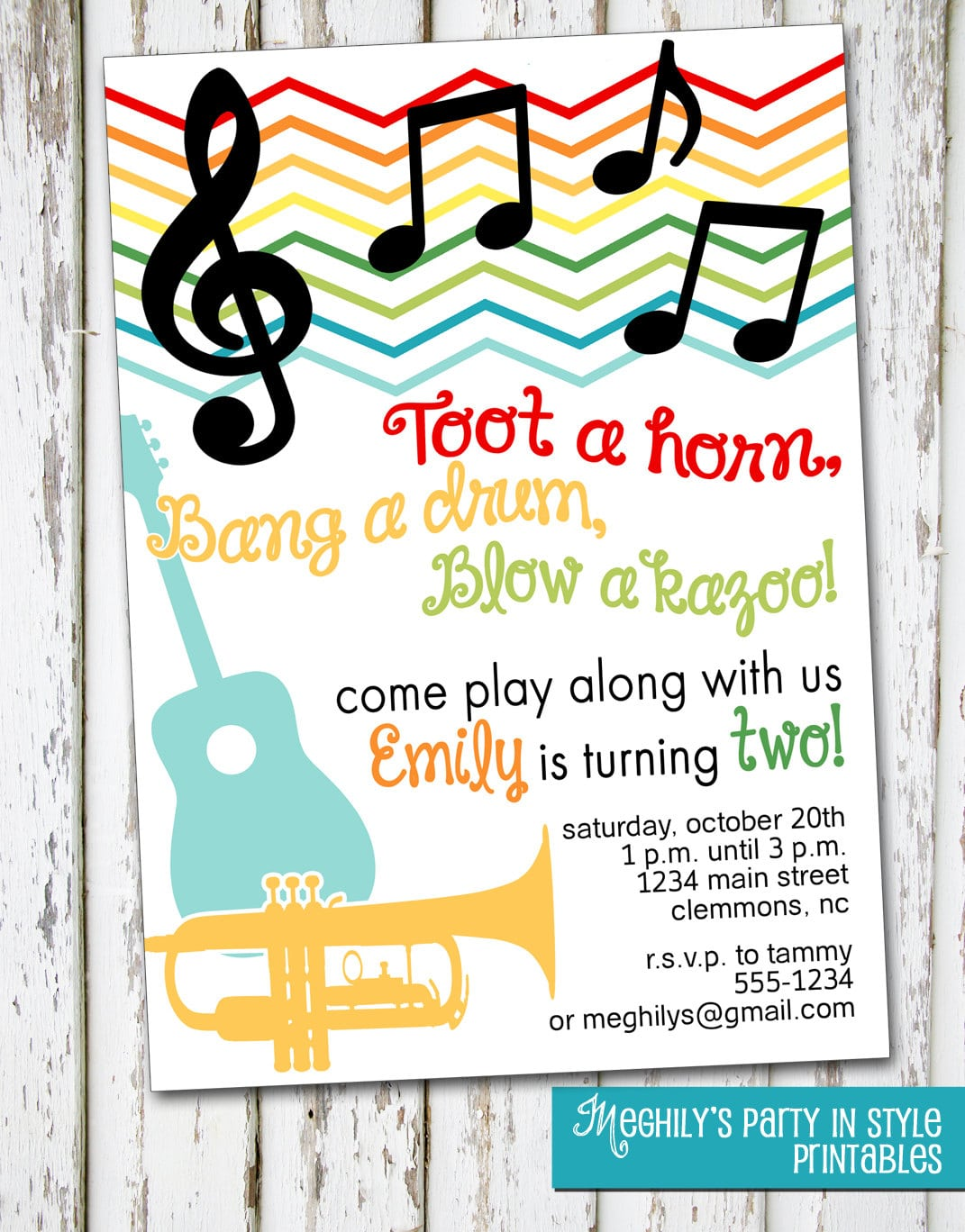 Music themed birthday party invitations mickey mouse invitations music birthday invitation kids any age instruments music party filmwisefo Images