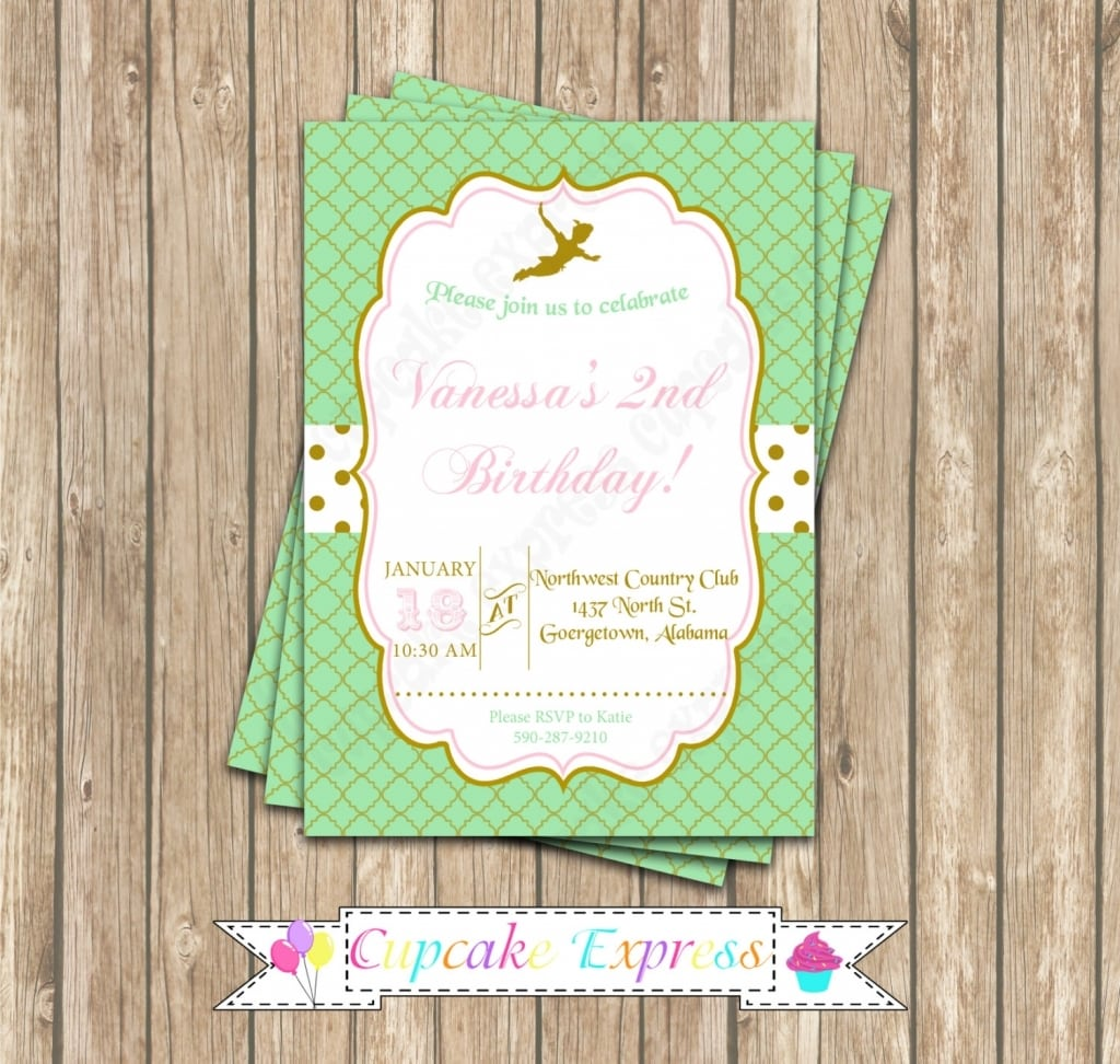 Neverland Party Invitations - Mickey Mouse Invitations Templates