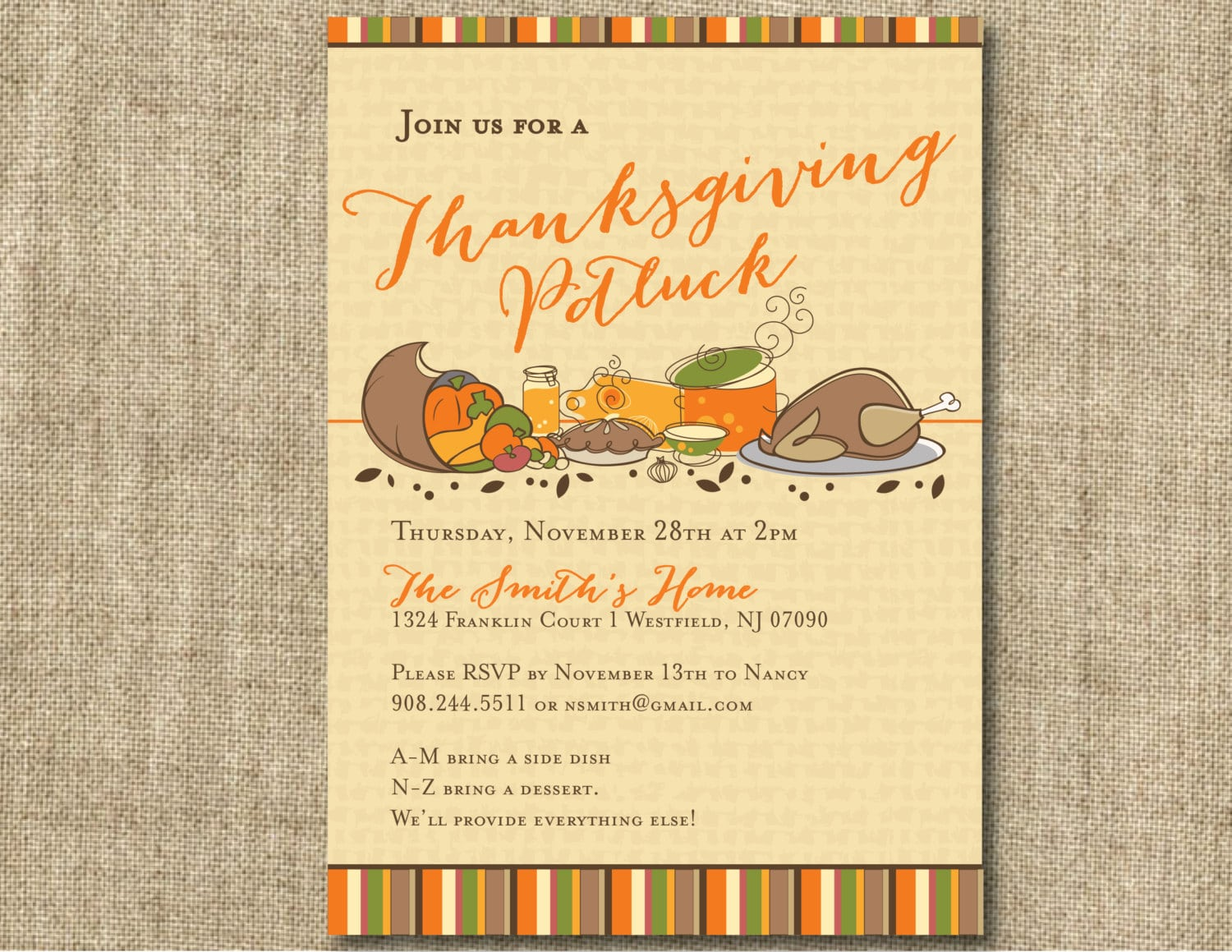 Potluck party invitation wording stopboris Image collections