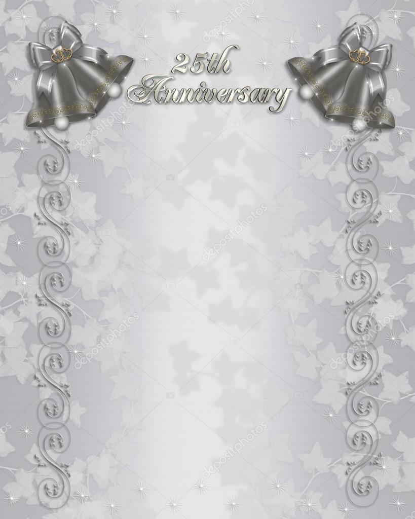 Personailized Diy Wedding Gift Anniversary Gift  Silver 25th