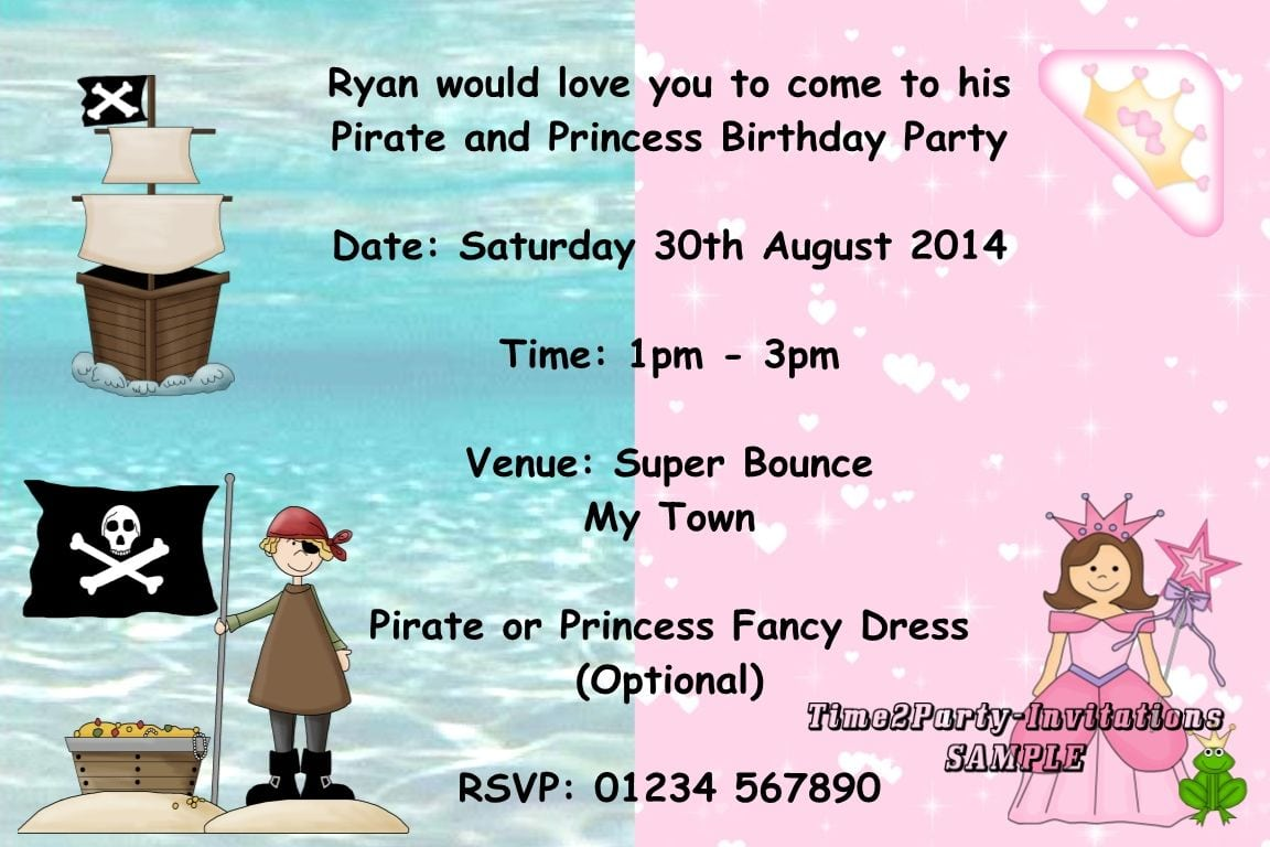 Fancy Dress Party Invitations - Mickey Mouse Invitations Templates