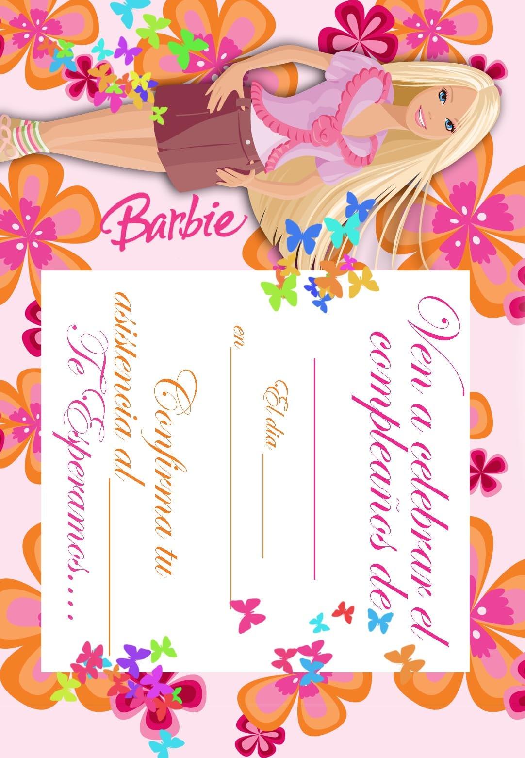Printable Birthday Invitations In Spanish