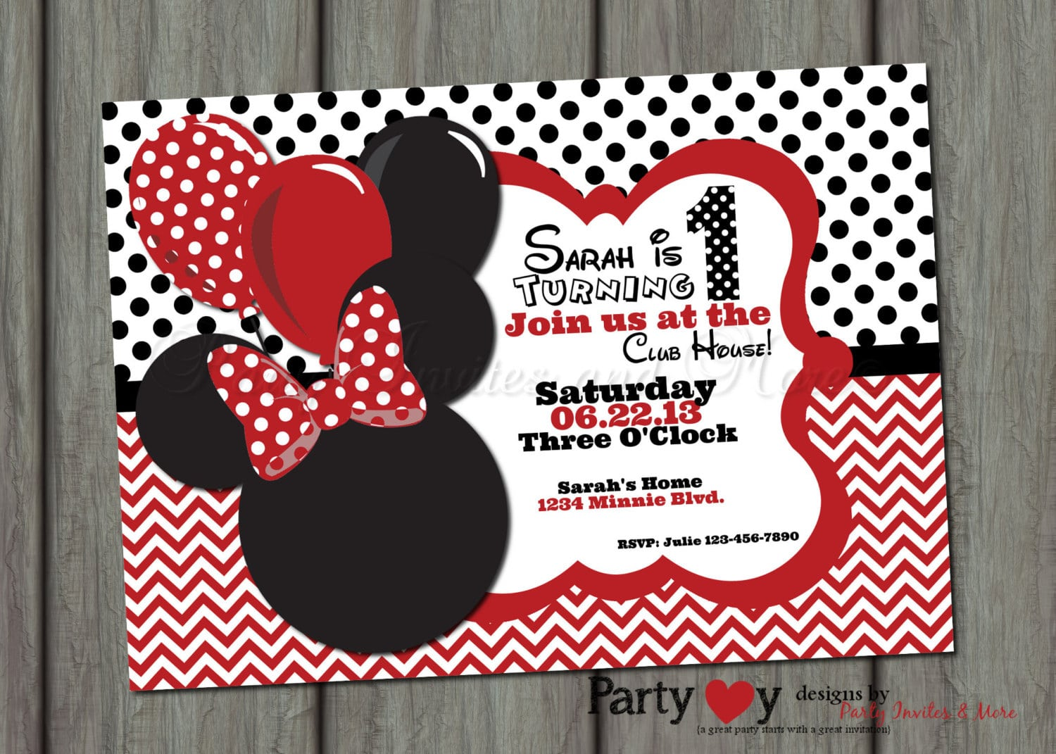 Exelent minnie mouse party invitations images invitations and modern minnie mouse party invitation mold resume ideas solutioingenieria Choice Image