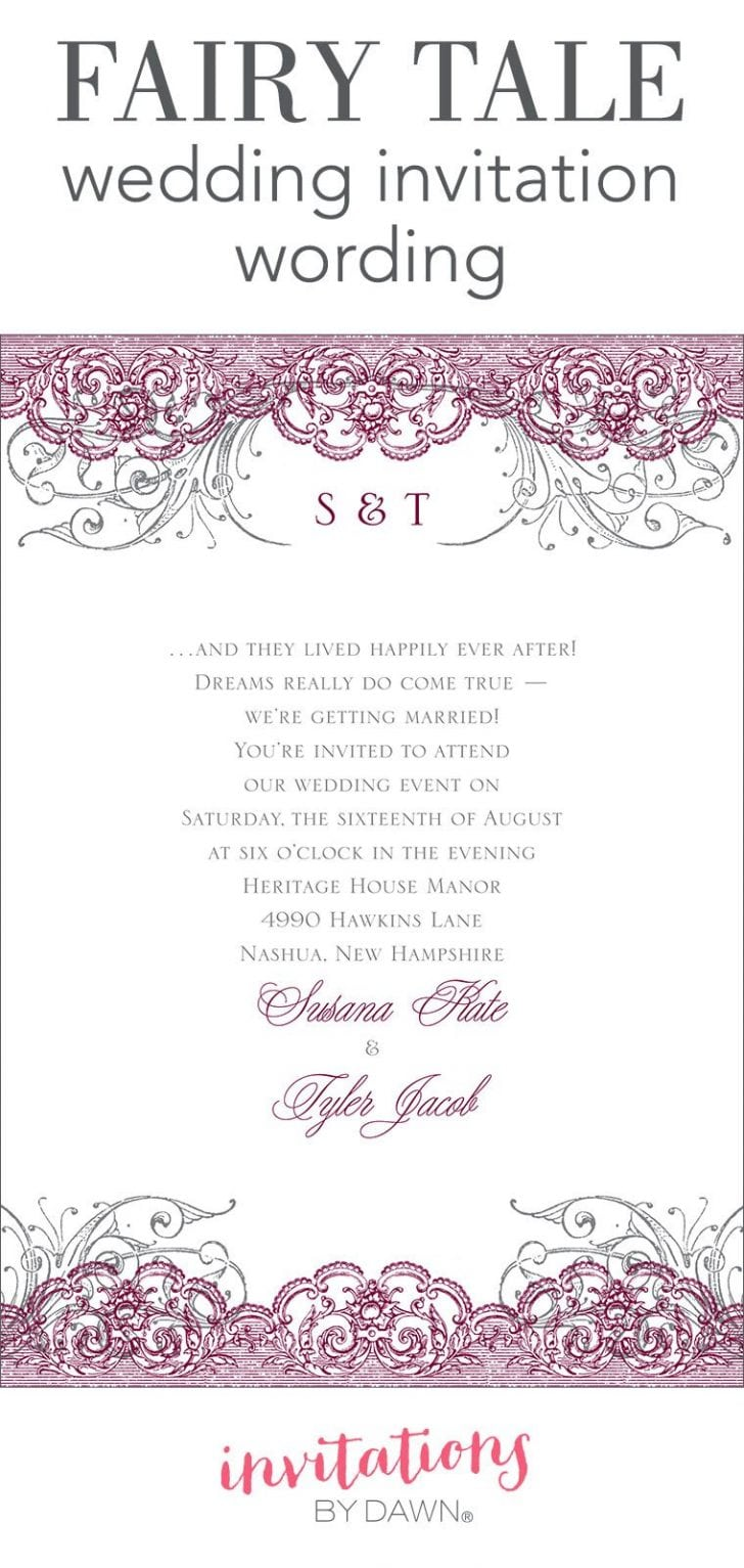 Fairy Tea Party Invitation Wording - Life Style By Modernstork.com