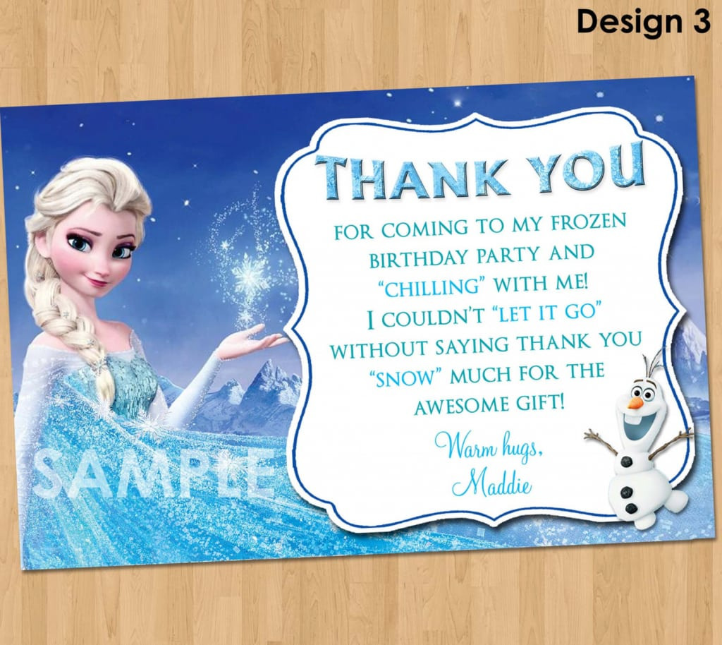 Thank You Message For Birthday Party Invitation