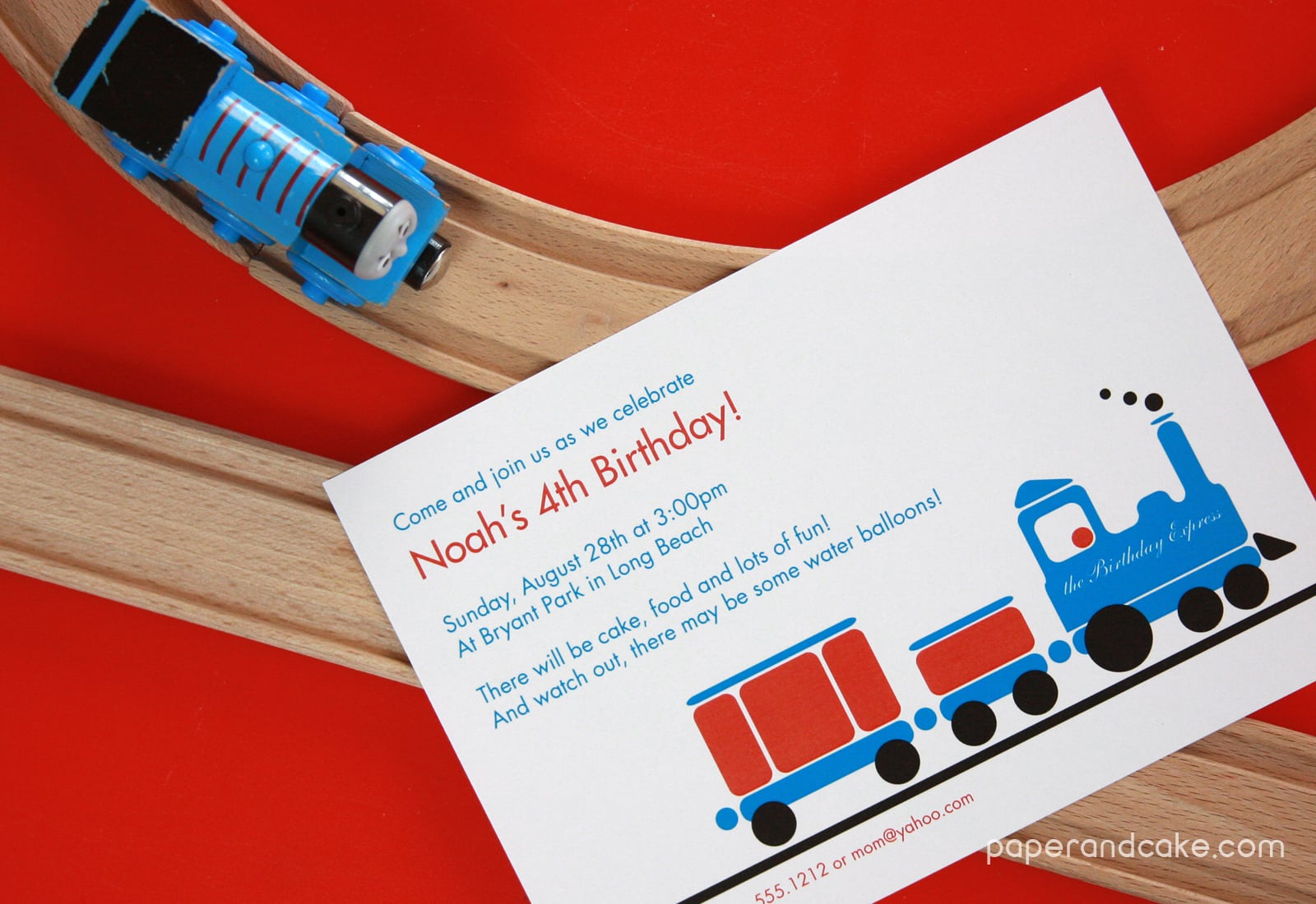 Train Birthday Party Invitations – Gangcraft Net