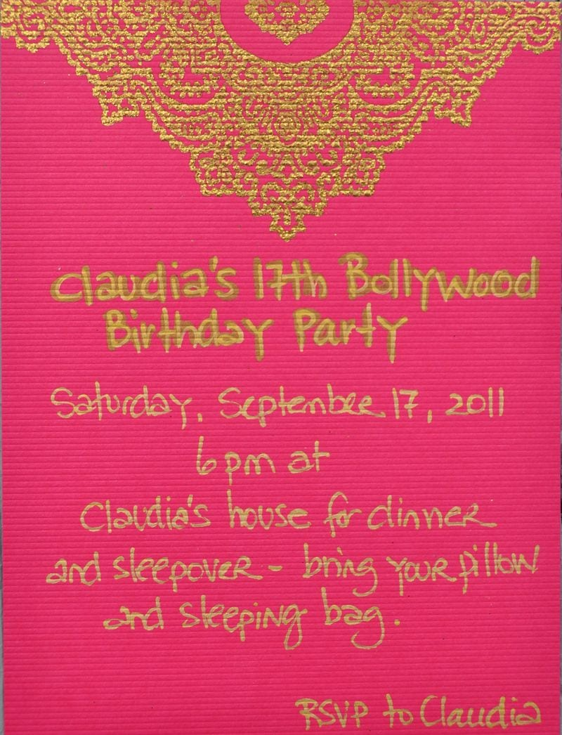 Indian Theme Party Invitations - Mickey Mouse Invitations Templates