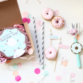 Donut Party Invitation