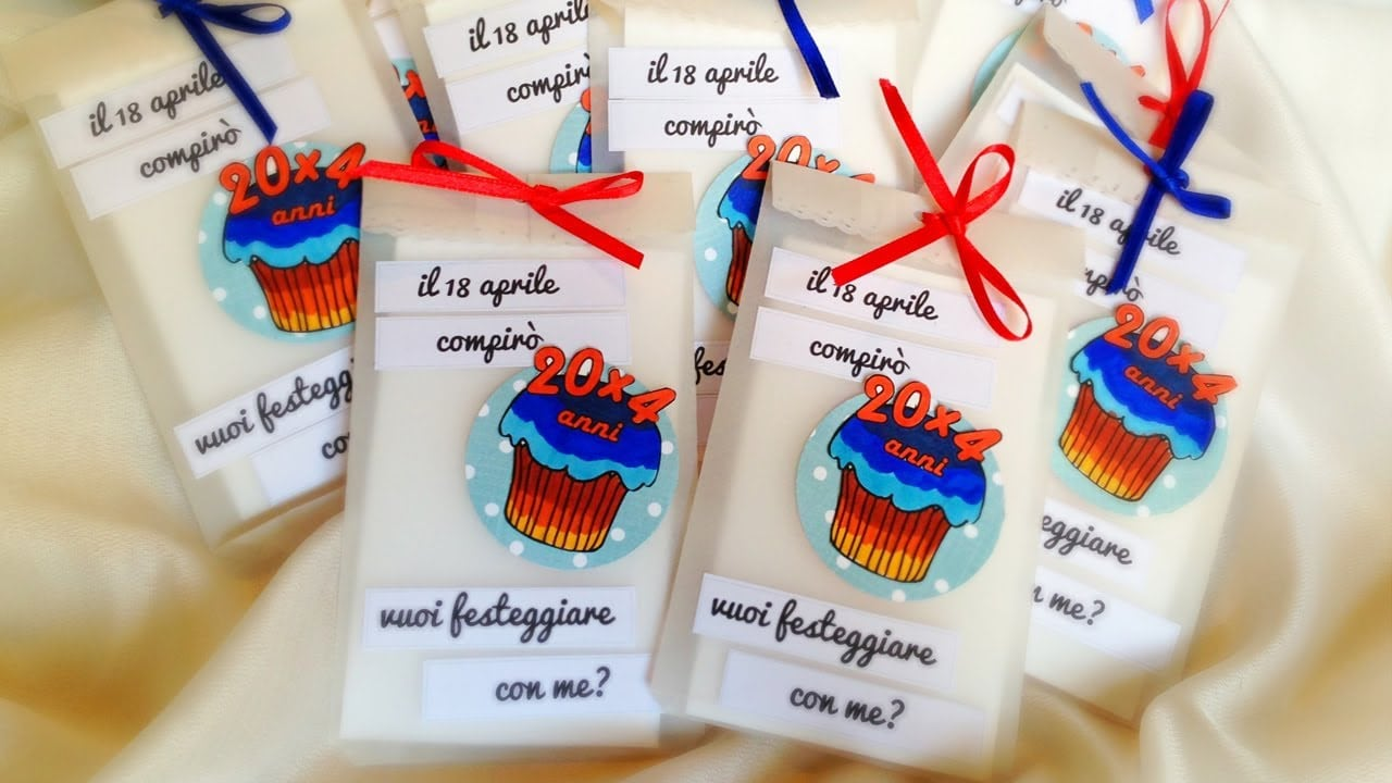 ☼ D I Y  Birthday Invitations ☼ Inviti Fai Da Te