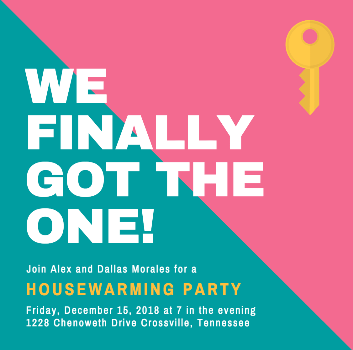 Design Your Own Custom Housewarming Invitations