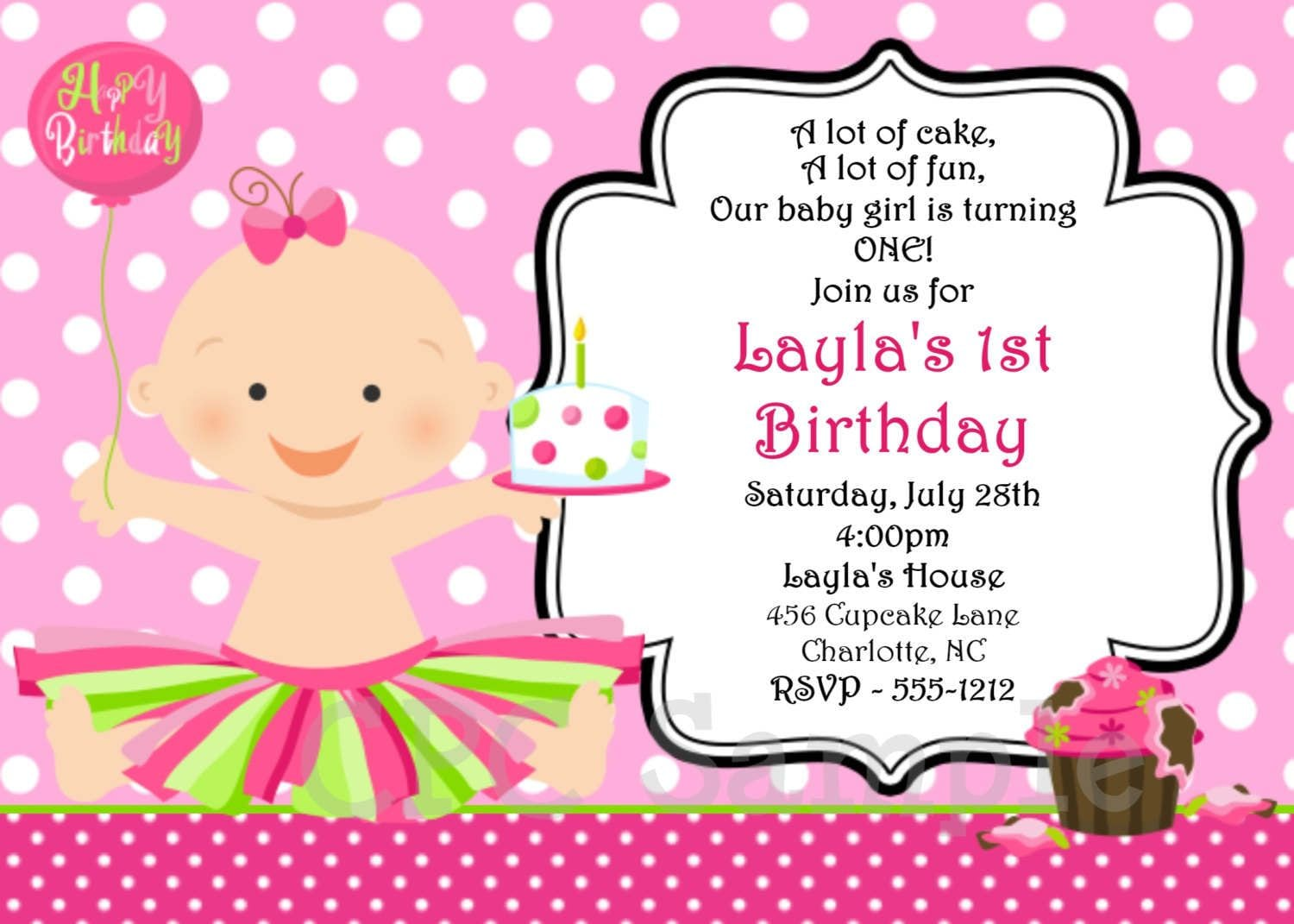 Doc  15002100  Online Birthday Invitations Templates – Doc1252835