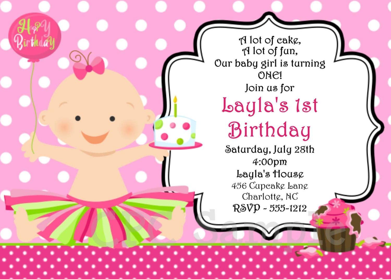 Doc  15002100  Online Birthday Invitations Templates – Doc1252835